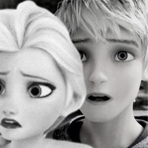क्वीन Elsa and Jack Frost