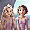 Rapunzel -- Before and After - disney-princess photo
