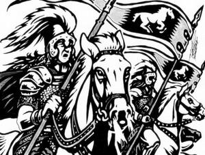 Ride of the Rohirrim bởi Bintavivi