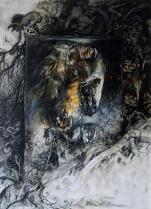 Rider of Rohan द्वारा Pieter Zaadstra