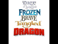 Rise of the Frozen Ribelle - The Brave Rapunzel - L'intreccio della torre Dragon