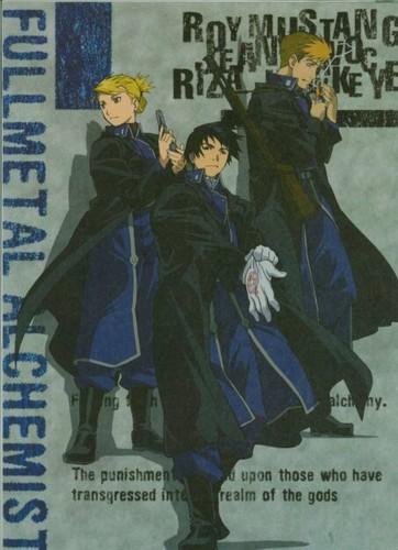 Riza Hawkeye Anime/Manga wallpaper with anime called Riza Hawkeye, Jean Havoc and Roy mustang