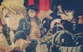 Riza Hawkeye, Roy Mustang, Lust and Alphonse