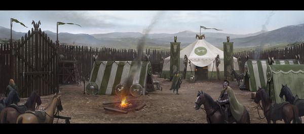 Rohan camp by wesburt