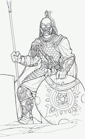 Rohirrim initial pencils bởi John Gonzalez