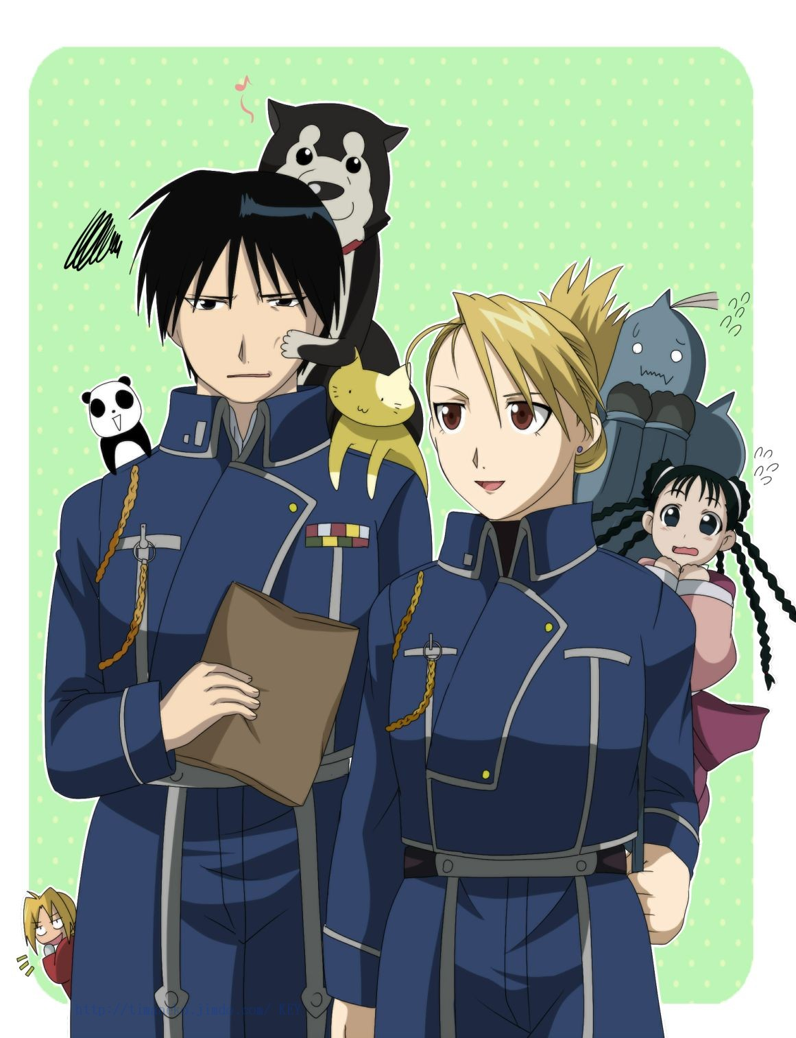 Alphonse Elric May Chang Alphonse And May Chang