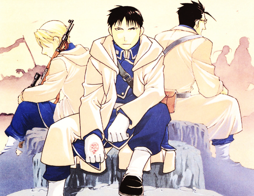 Roy Mustang images Roy Mustang, Riza Hawkeye and Maes Hughes HD ...