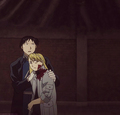 Roy Mustang and Riza Hawkeye - full-metal-alchemist photo