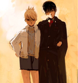 Roy Mustang and Riza Hawkeye - full-metal-alchemist-couples fan art