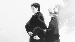 Roy mustang and Riza Hawkeye