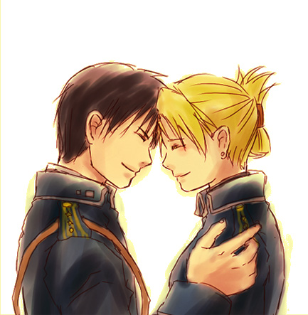 Riza Hawkeye Anime/Manga achtergrond called Roy and Riza