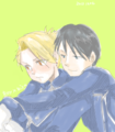 Roy and Riza