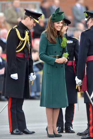 Royals Enjoy the St. Patrick's দিন Parade