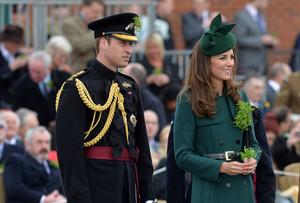 Royals Enjoy the St. Patrick's araw Parade