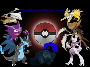 Runt's Pokemon Team