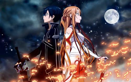 Sword Art Online wallpaper titled SAO!!