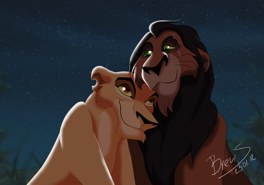SCAR AND ZIRA - Scar and Zira Fan Art (36842741) - Fanpop