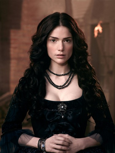 Salem TV Series wallpaper possibly containing a hip boot, a bustier, and a chemise called Salem HQ promotional fotografias