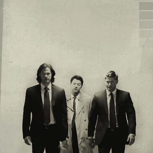 Supernatural Wallpaper With A Business Suit And Three Piece Called Sam Dean Castiel