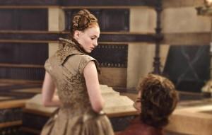 Sansa Stark and Tyrion Lannister