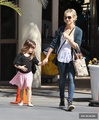 Sarah Picks Up Charlotte From Her Ballet Class in L.A. (March 15th, 2014) - sarah-michelle-gellar photo
