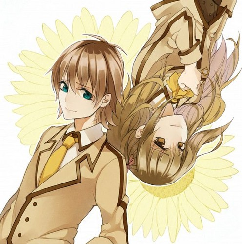 Nagi no Asukara karatasi la kupamba ukuta possibly with anime called Sayu x Kaname