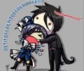 Sebastian Eating Ciel - black-butler photo