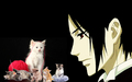 Sebastian and Kittens - sebastian-michaelis wallpaper