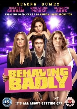 "Amazon.uk's HQ Cover of the ""Behaving Badly"" DVD"