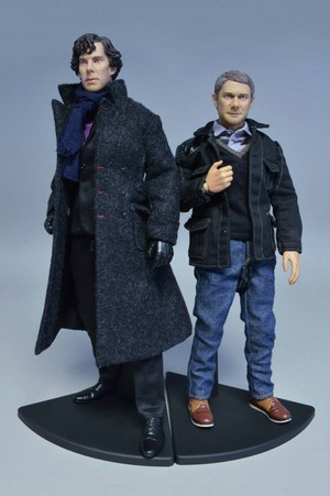 Sherlock and John Figurines