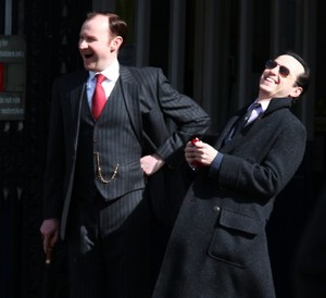 Mycroft and Moriarty