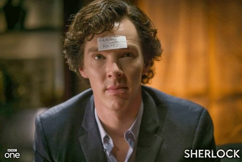 Sherlock on BBC One wallpaper with a business suit and a suit titled Sherlock Holmes as Sherlock Holmes