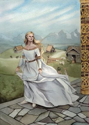 Shieldmaiden by Michelle Hunt