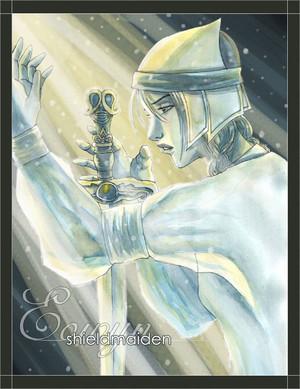 Shieldmaiden of Rohan 由 Liezl A. Buenaventura
