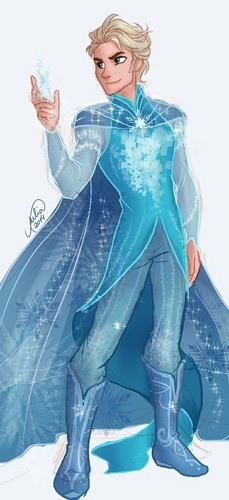 Elsa the Snow Queen hình nền entitled Snow King
