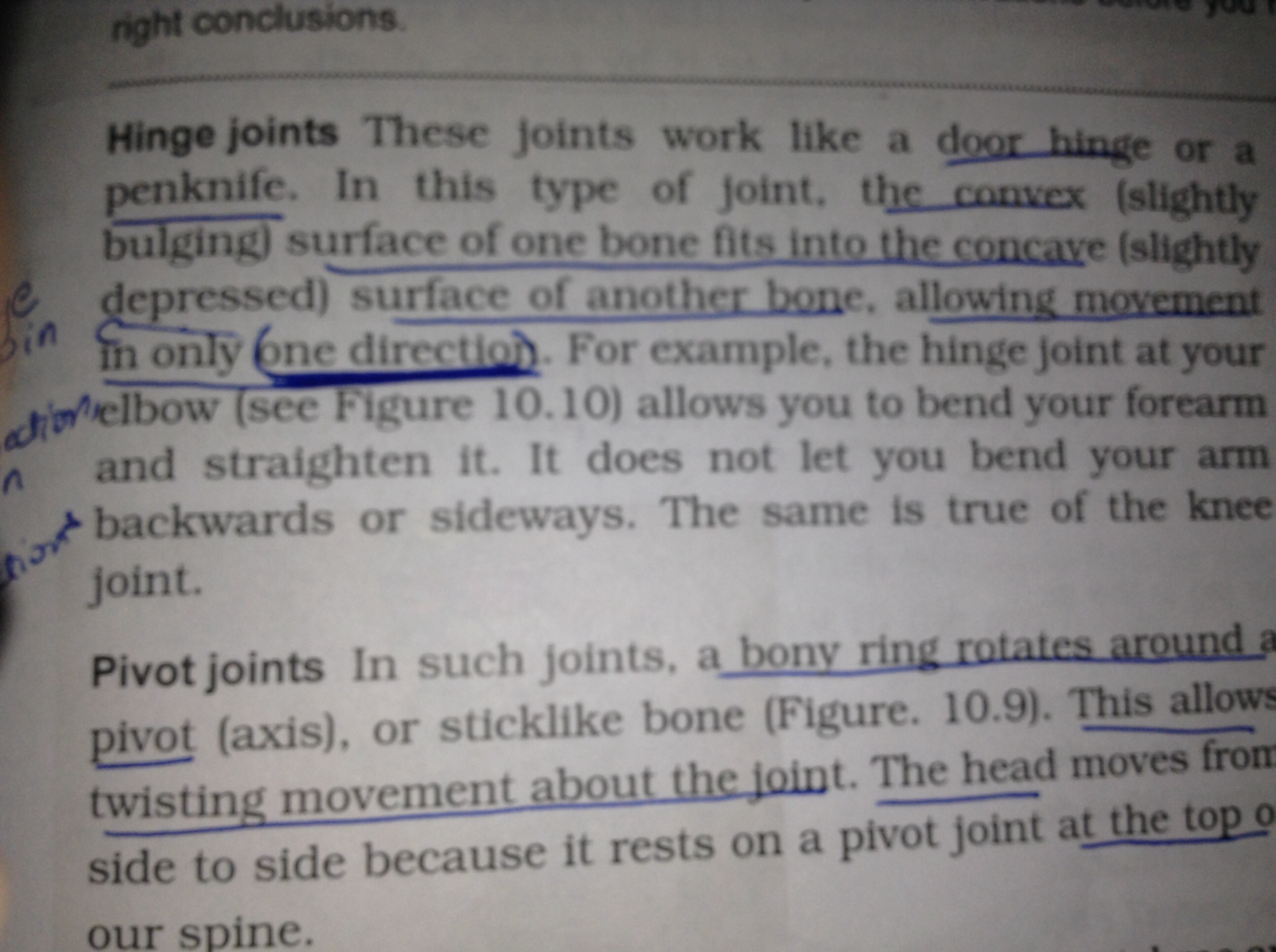 Some 1D related afbeeldingen in my textbooks ღ