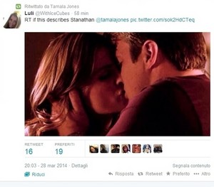 Stanathan retwitted por Tamala(March,2014)