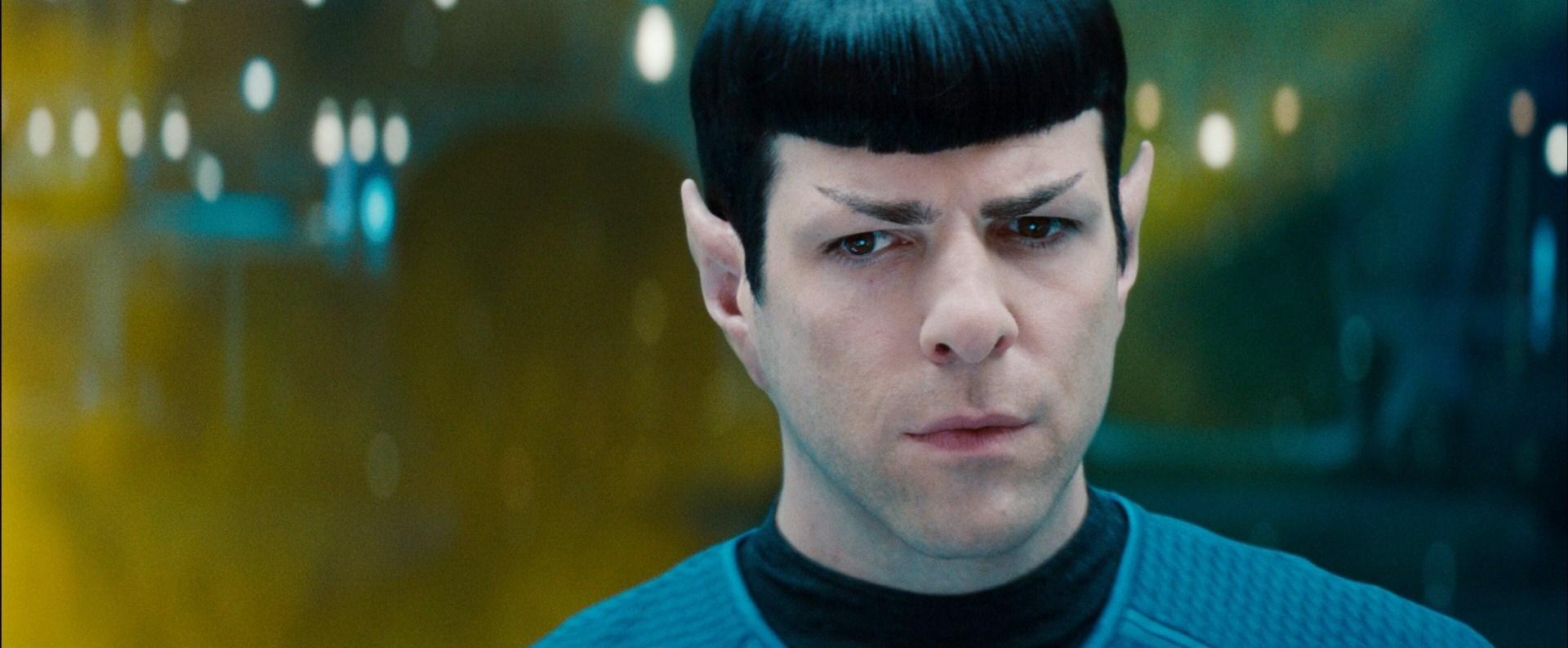 Star Trek into Darkness - Zachary Quinto's Spock Photo ...