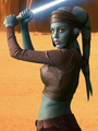 Aayla on Geonosis  - star-wars-attack-of-the-clones photo