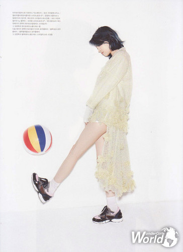 Sunmi Обои entitled Sunmi for Oh! Boy magazine