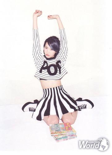 Sunmi Обои entitled Sunmi for Oh! Boy magazine