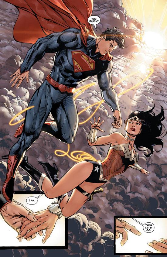 Woman superman wonder and Superman/Wonder Woman