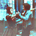 Sweeney and Lovett dancing - sweeney-todd icon