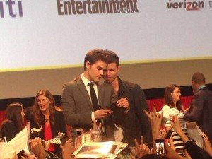 TVD TO cast at PaleyFest