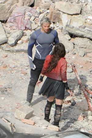 The Avengers: Age of Ultron Set foto - Quicksilver
