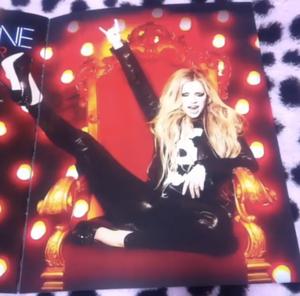 The Avril Lavigne Tour Book