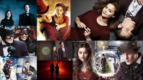 doctor who fondo de pantalla called The Doctor and Clara