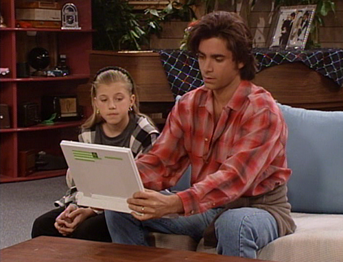 Full House Wallpaper With A Laptop Entitled The Heartbreak Kid
