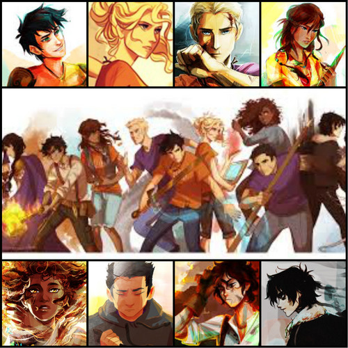 Helden des Olymp Hintergrund with Anime called The Heroes of Olympus