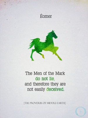 The Man of the Mark do not lie द्वारा David Rowe